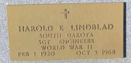 LINDBLAD, HAROLD E. - Lincoln County, South Dakota   HAROLD E. LINDBLAD - South Dakota Gravestone Photos