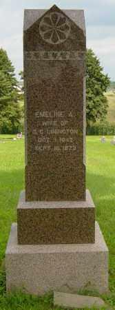 LININGTON, EMELINE A - Lincoln County, South Dakota | EMELINE A LININGTON - South Dakota Gravestone Photos