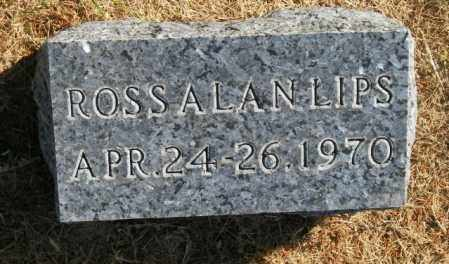 LIPS, ROSS ALAN - Lincoln County, South Dakota | ROSS ALAN LIPS - South Dakota Gravestone Photos