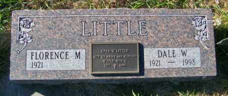 LITTLE, DALE W. - Lincoln County, South Dakota | DALE W. LITTLE - South Dakota Gravestone Photos