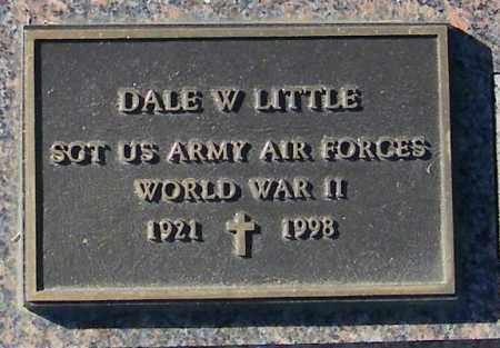 LITTLE, DALE W. - Lincoln County, South Dakota | DALE W. LITTLE - South Dakota Gravestone Photos
