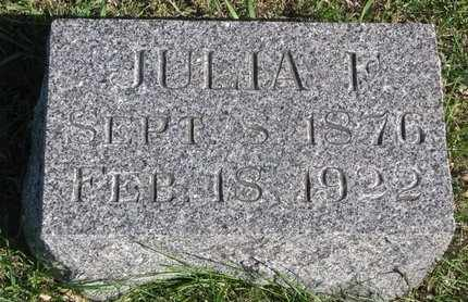 LITTLE, JULIA F. - Lincoln County, South Dakota | JULIA F. LITTLE - South Dakota Gravestone Photos