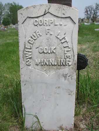 LITTLE, WILBUR F. - Lincoln County, South Dakota | WILBUR F. LITTLE - South Dakota Gravestone Photos