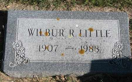 LITTLE, WILBUR R. - Lincoln County, South Dakota | WILBUR R. LITTLE - South Dakota Gravestone Photos