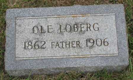 LOBERG, OLE - Lincoln County, South Dakota | OLE LOBERG - South Dakota Gravestone Photos