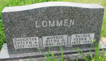LOMMEN, PEDER P. - Lincoln County, South Dakota | PEDER P. LOMMEN - South Dakota Gravestone Photos