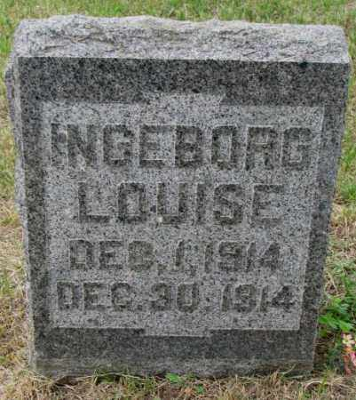 LOMMEN, INGEBORG LOUISE - Lincoln County, South Dakota | INGEBORG LOUISE LOMMEN - South Dakota Gravestone Photos