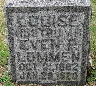 LOMMEN, LOUISE - Lincoln County, South Dakota | LOUISE LOMMEN - South Dakota Gravestone Photos