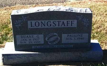 LONGSTAFF, DUANE G - Lincoln County, South Dakota   DUANE G LONGSTAFF - South Dakota Gravestone Photos