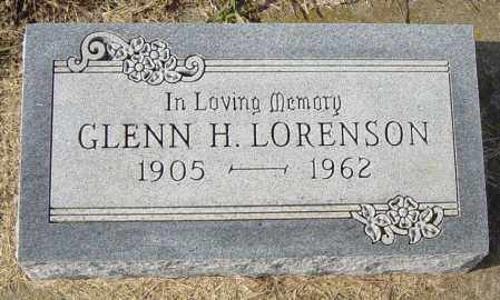 LORENSON, GLENN H - Lincoln County, South Dakota | GLENN H LORENSON - South Dakota Gravestone Photos