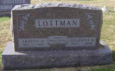 LOTTMAN, FRANCIS O - Lincoln County, South Dakota | FRANCIS O LOTTMAN - South Dakota Gravestone Photos