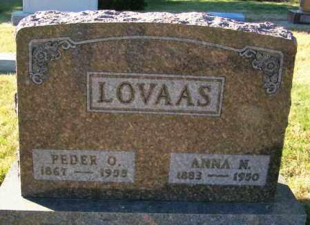 LOVAAS, PEDER O. - Lincoln County, South Dakota   PEDER O. LOVAAS - South Dakota Gravestone Photos