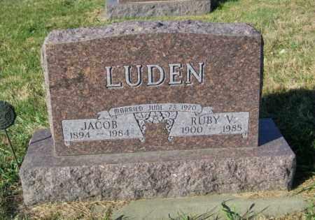 LUDEN, RUBY V. - Lincoln County, South Dakota | RUBY V. LUDEN - South Dakota Gravestone Photos
