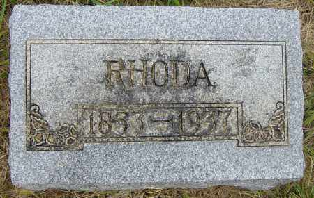 LUKKEN, RHODA - Lincoln County, South Dakota | RHODA LUKKEN - South Dakota Gravestone Photos