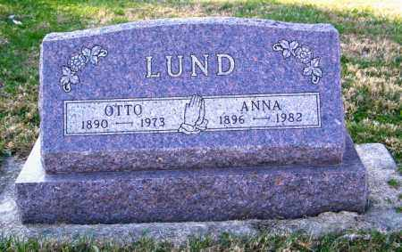 LUND, ANNA - Lincoln County, South Dakota | ANNA LUND - South Dakota Gravestone Photos