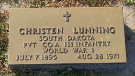 LUNNING, CHRISTEN - Lincoln County, South Dakota | CHRISTEN LUNNING - South Dakota Gravestone Photos