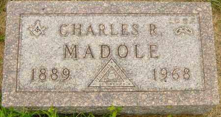 MADOLE, CHARLES R - Lincoln County, South Dakota | CHARLES R MADOLE - South Dakota Gravestone Photos