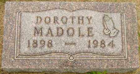 MADOLE, DOROTHY - Lincoln County, South Dakota | DOROTHY MADOLE - South Dakota Gravestone Photos
