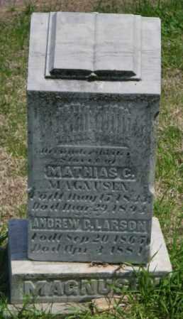 LARSON, ANDREW D - Lincoln County, South Dakota | ANDREW D LARSON - South Dakota Gravestone Photos
