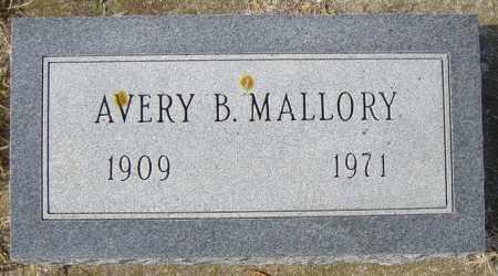 MALLORY, AVERY B - Lincoln County, South Dakota | AVERY B MALLORY - South Dakota Gravestone Photos