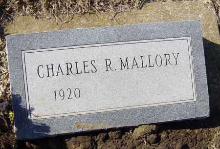 MALLORY, CHARLES R - Lincoln County, South Dakota | CHARLES R MALLORY - South Dakota Gravestone Photos