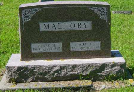 MALLORY, ADA T - Lincoln County, South Dakota | ADA T MALLORY - South Dakota Gravestone Photos