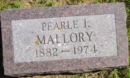 MALLORY, PEARLE I - Lincoln County, South Dakota   PEARLE I MALLORY - South Dakota Gravestone Photos