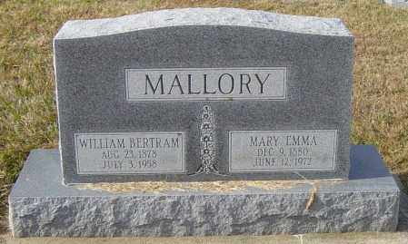 MALLORY, WILLIAM BERTRAM - Lincoln County, South Dakota | WILLIAM BERTRAM MALLORY - South Dakota Gravestone Photos