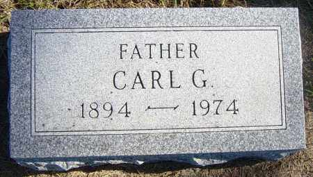 MANNING, CARL G - Lincoln County, South Dakota | CARL G MANNING - South Dakota Gravestone Photos