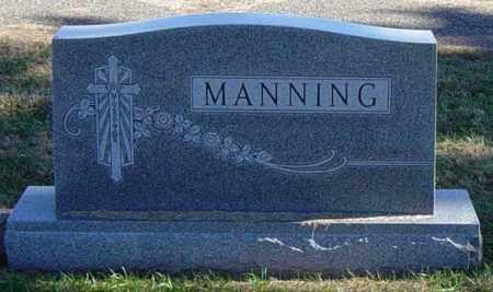 MANNING FAMILY MEMORIAL, CARL G - Lincoln County, South Dakota | CARL G MANNING FAMILY MEMORIAL - South Dakota Gravestone Photos