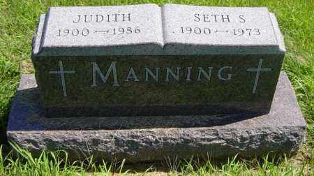 MANNING, JUDITH - Lincoln County, South Dakota | JUDITH MANNING - South Dakota Gravestone Photos