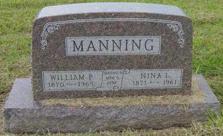 MANNING, WILLIAM P - Lincoln County, South Dakota | WILLIAM P MANNING - South Dakota Gravestone Photos