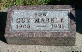 "MARKLE, FREDRICK LEWIS ""GUY"" - Lincoln County, South Dakota   FREDRICK LEWIS ""GUY"" MARKLE - South Dakota Gravestone Photos"