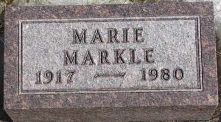 MARKLE, MARIE - Lincoln County, South Dakota | MARIE MARKLE - South Dakota Gravestone Photos