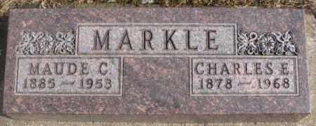 MARKLE, CHARLES E. - Lincoln County, South Dakota   CHARLES E. MARKLE - South Dakota Gravestone Photos