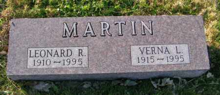 MARTIN, VERNA L - Lincoln County, South Dakota | VERNA L MARTIN - South Dakota Gravestone Photos