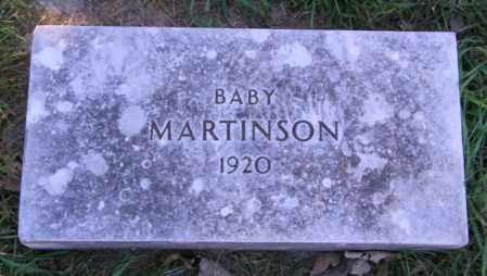MARTINSON, BABY - Lincoln County, South Dakota | BABY MARTINSON - South Dakota Gravestone Photos