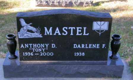 MASTEL, DARLENE F. - Lincoln County, South Dakota | DARLENE F. MASTEL - South Dakota Gravestone Photos