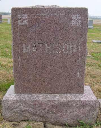 MATHISON FAMILY MEMORIAL, MIKE - Lincoln County, South Dakota | MIKE MATHISON FAMILY MEMORIAL - South Dakota Gravestone Photos