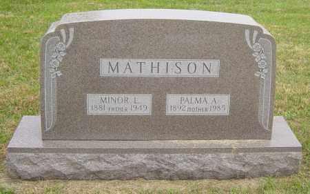 MATHISON, MINOR L - Lincoln County, South Dakota | MINOR L MATHISON - South Dakota Gravestone Photos