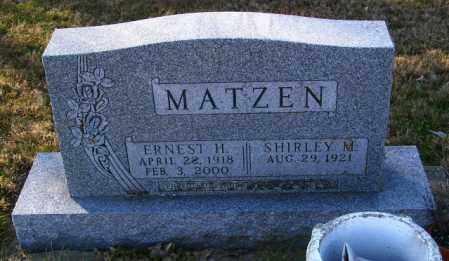 MATZEN, SHIRLEY M. - Lincoln County, South Dakota | SHIRLEY M. MATZEN - South Dakota Gravestone Photos