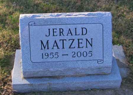 MATZEN, JERALD - Lincoln County, South Dakota | JERALD MATZEN - South Dakota Gravestone Photos