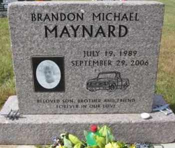 MAYNARD, BRANDON MICHAEL - Lincoln County, South Dakota   BRANDON MICHAEL MAYNARD - South Dakota Gravestone Photos
