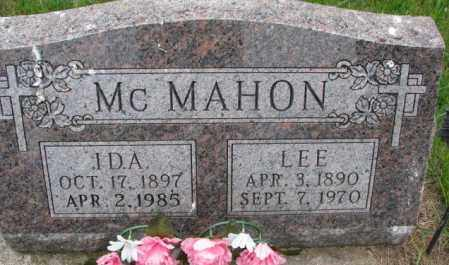 MC MAHON, IDA - Lincoln County, South Dakota | IDA MC MAHON - South Dakota Gravestone Photos