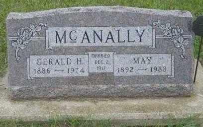 MCANALLY, GERALD H - Lincoln County, South Dakota | GERALD H MCANALLY - South Dakota Gravestone Photos