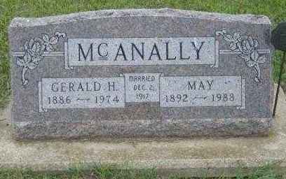 MCANALLY, GERALD H - Lincoln County, South Dakota | GERALD H MCANALLY - South Dakota Gravestone Photos