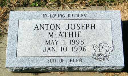 MCATHIE, ANTON JOSEPH - Lincoln County, South Dakota | ANTON JOSEPH MCATHIE - South Dakota Gravestone Photos