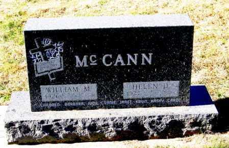 MCCANN, HELEN D - Lincoln County, South Dakota   HELEN D MCCANN - South Dakota Gravestone Photos