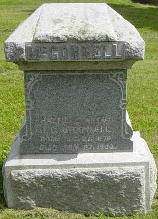 MCCONNELL, HATTIE L - Lincoln County, South Dakota   HATTIE L MCCONNELL - South Dakota Gravestone Photos