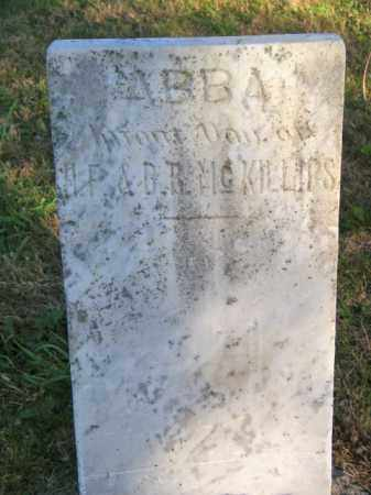 MCKILLIPS, ABBA - Lincoln County, South Dakota | ABBA MCKILLIPS - South Dakota Gravestone Photos